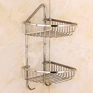 Amazon.com: Drawing a sharp corner double basket racks 304 stainless on cabinet shelf for bathroom, fireplaces for bathroom, knobs for bathroom, industrial shelving for bathroom, mirrored walls for bathroom, diy built in shelves bathroom, fixtures for bathroom, diy shelving for bathroom, nick nacks for bathroom, panels for bathroom, inset sinks for bathroom, corner etagere for bathroom, pegboard for bathroom, ramps for bathroom, decorative jars for bathroom, accent pieces for bathroom, bamboo mats for bathroom, ornaments for bathroom, side cabinets for bathroom, pallets for bathroom,