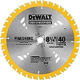 DEWALT DW3184 Series 20 8-1/4-Inch 40 Tooth ATB Thin Kerf Saw Blade with 5/8-Inch Arbor