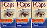 ICaps Eye Vitamin & Mineral Supplement - Lutein & Zeaxanthin - 60 Count Coated Tablets - by ICaps