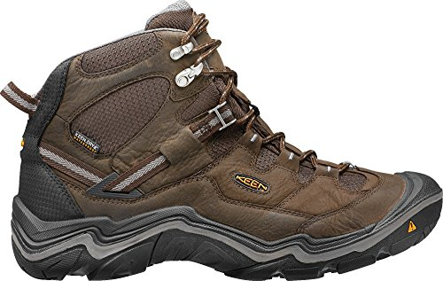 (KEEN Men's Durand Mid Waterproof Hiking Boot,Cascade Brown/Gargoyle,9 M US)