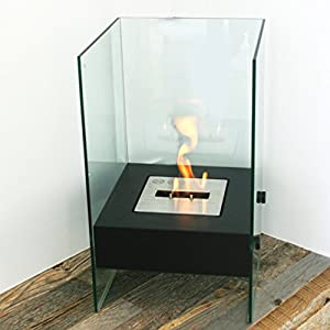 Contemporary Free Standing Fireplace