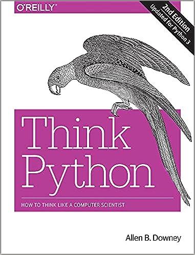 Libro think python