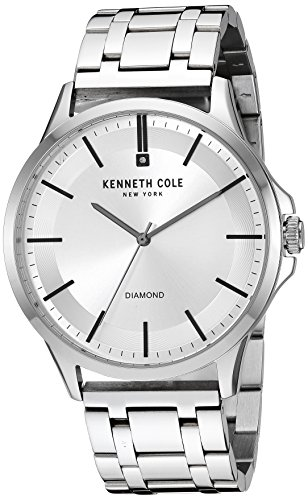 Kenneth Cole New York Silver Dial Watch - Kenneth Cole New York Dress Watch (Model: KC50208006)