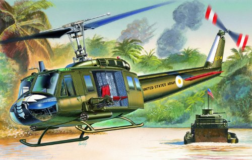 Italeri UH-1D Iroquois Model Kit Uh 1d Huey Helicopter