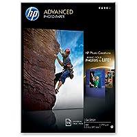 HP Advanced Photo Paper glace Papier jet d'encre Photo 250g Blanc