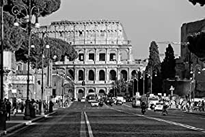 Colosseum in Rome, Italy Photo Poster 24 x 36in
