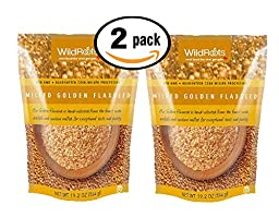 Pack of 2 - 19.2 oz WildRoots Milled Golden Flaxseed