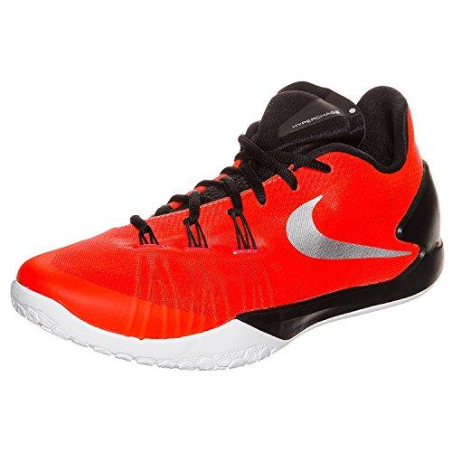 Pourpre Mtallis noir blanc Hommes Nike Noir De Chaussures Brillant Hyperchase Blanc Pour Basket Tb Et Argent vwgxAqaC