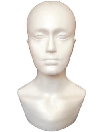 mâle en mousse Modèle de tête de mannequin pour affichage Showcase Lunettes  Chapeau Perruque écharpes 0a281611265a
