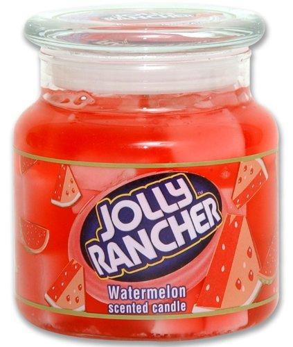 Jolly Rancher by Hanna's Candle 14.75-Ounce Jolly Rancher Watermelon Jar - Candle Hannas