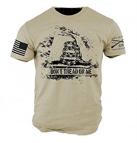 Grunt Style Don't Tread On Me Men's T-shirt - Men Style Me