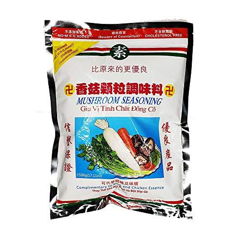 ORIGINAL MUSHROOM SEASONING NATURAL GRANULE NO MSG (500g) (Best Vegan Mushroom Gravy)