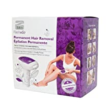 Silk'n Flash & Go Face and Body Permanent Hair Removal Device (w/ 4 cartridges - 4000 pulses) Personal Healthcare / Health Care by Healthcare