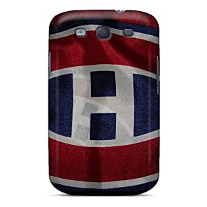 Perfect Hard Phone Case For Samsung Galaxy S3 With Custom Attractive Montreal Canadiens Skin JamesKrisky