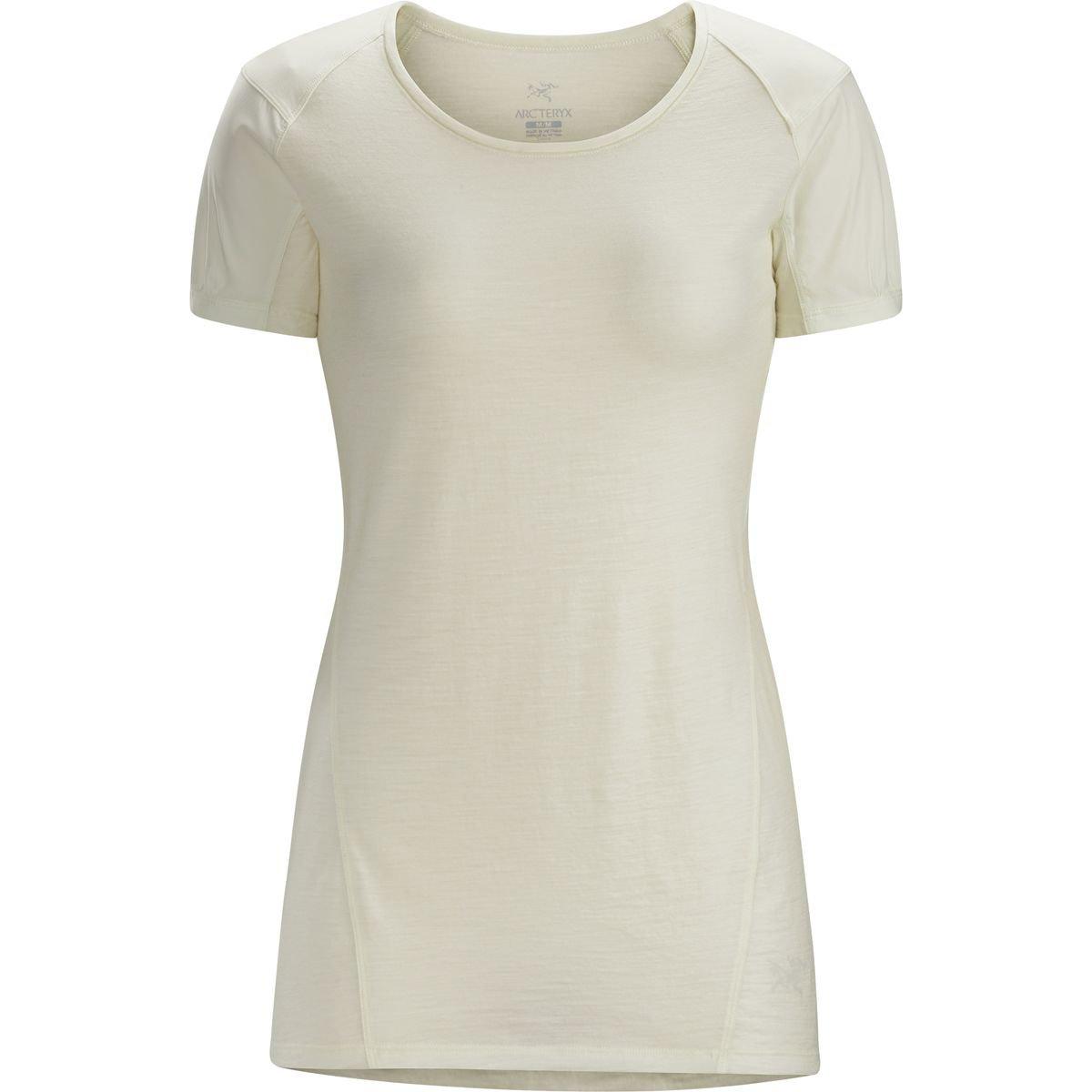 (アークテリクス) Arc'teryx Lana Comp Shirt - Short-Sleeve レディース シャツトップスVintage Ivory [並行輸入品] XL Vintage Ivory B077NB7WLG