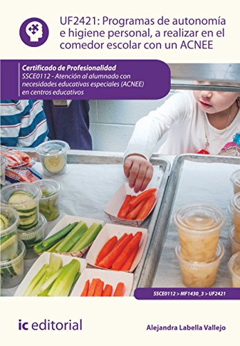 Programas de autonomía e higiene personal, a realizar en el comedor escolar con un ACNEE