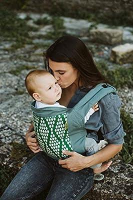حامل اطفال كلاسيك 4 جي من بوبا، لون اخضر فيرداي، موديل BC4-020-Verd