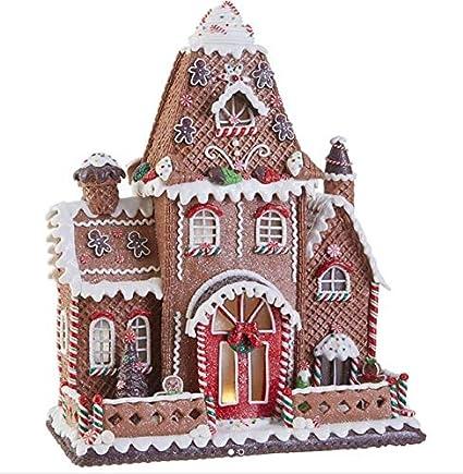 Christmas Gingerbread House.Amazon Com Raz Imports 16 5 Large Christmas Gingerbread