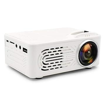 Mini proyector de películas Full HD portátil, 7000 lúmenes 3D ...
