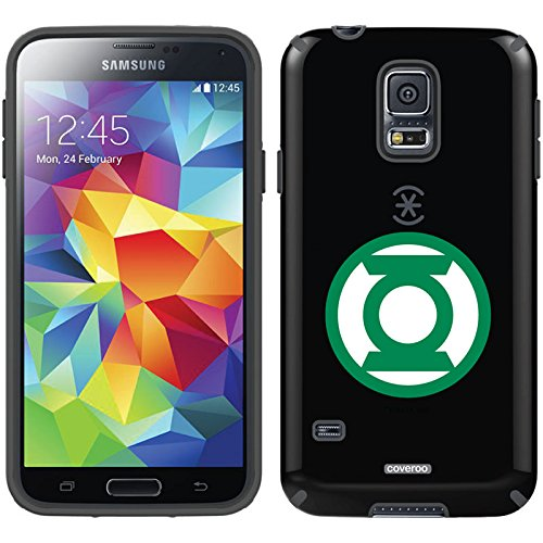 Coveroo CandyShell Cell Phone Case for Samsung Galaxy S5 - Green Lantern Emblem Circle (Galaxy Lantern Green Case S5)