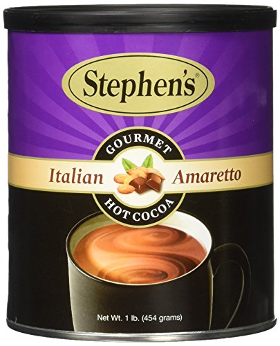 Stephen's Gourmet Hot Cocoa, Italian Amaretto, 16-Ounce Cans (Pack of (Italian Hot Chocolate)