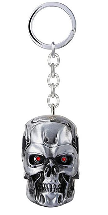 Fashion Jewery The Terminator Llavero Key Chain Colgante ...