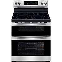 Kenmore Elite 97313 6.9 cu. ft. Self Clean Electric Double Oven Range in Stainless Steel, includes delivery and hookup