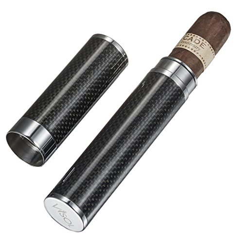 - Visol Products Grayson Carbon Fiber Large Cigar Tube