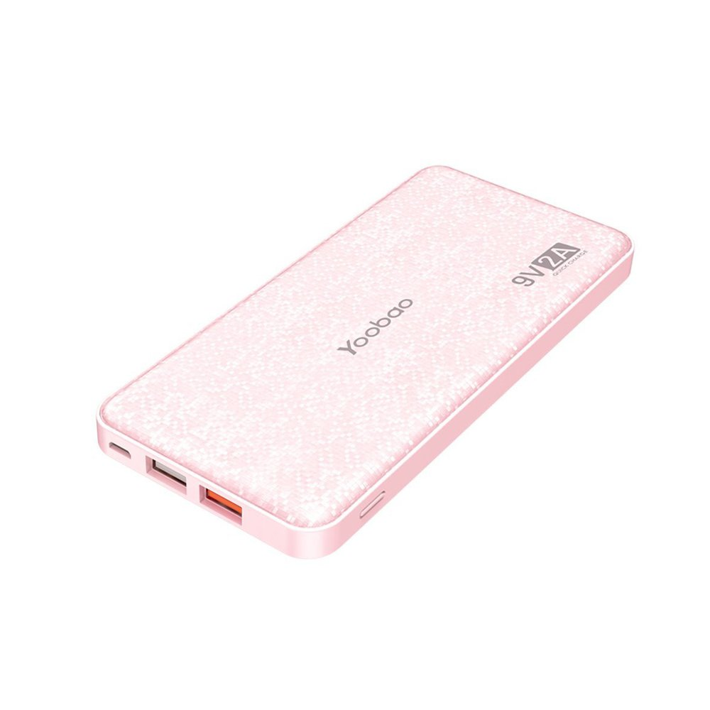 Cargador portátil 12000mAh Banco de energía ultra delgado Q12 Qualcomm Quick Charge 3.0 Paquete de baterías externas Carga rápida Banco compatible Samsung S8 / S8 + iPhone X / 8/8 + Huawei Google LG