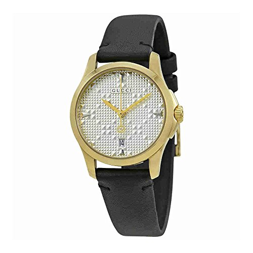Gucci G-Timeless Silver Dial Ladies Watch YA126571 for sale  Delivered anywhere in USA