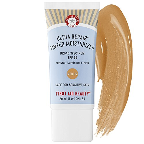 ultra repair tinted moisturizer broad