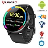 "LEMFO LEMX - Android 7.1 4G LTE 2.03"" Screen Smart Watches,MT6739 1GB+16GB 8MP"