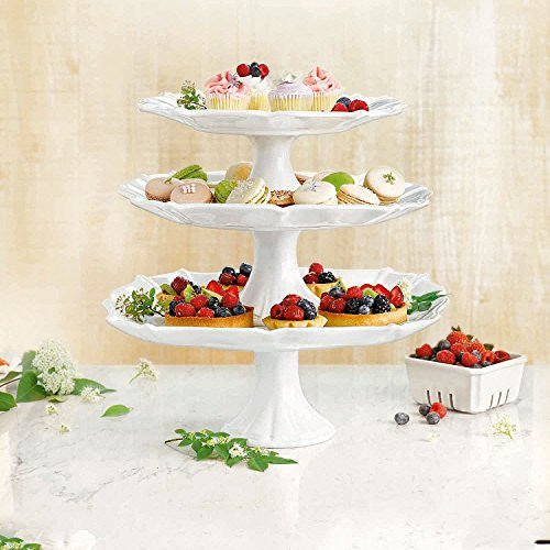 Member's Mark 3-Piece Pedastal Cake Stand Set