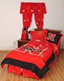 College Covers Nebraska Cornhuskers Bed in a Bag Twin - With Team Colored Sheets