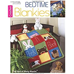 Bedtime Blankies: The Best of Mary Maxim-3 Adorable Baby Blankets to Crochet Following Graph Style Patterns