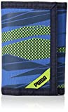 PUMA Little Kids' Rise Trifold Wallet, navy/green, One Size