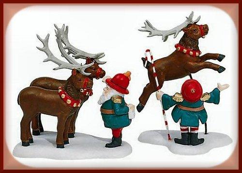 Department 56: Reindeer Training Camp RETIRED
