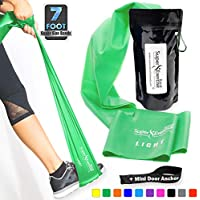 Super Exercise Band 7 ft. Long Latex Free Resistance...