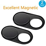 Webcam Cover [2Pack], CloudValley Magnetic Metal Slider Web Camera Cover for Laptop, Macbook Pro, Surfcase Pro, Privacy Guardian