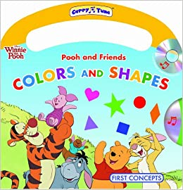 4d7ad0b9a971 Disney Winnie the Pooh and Friends Colors and Shapes (Carry-A-Tune book  with easy-to-download audiobook) (Carry a Tune  Disney Winnie the Pooh)  Paperback ...