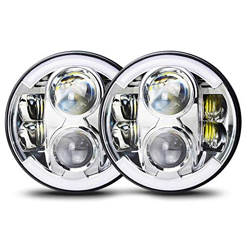 Used, TERRAIN VISION DOT Approved 7 inch LED Headlights Bulb for sale  Delivered anywhere in Canada