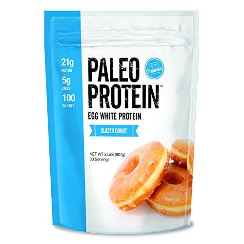 Julian Bakery Paleo Protein Powder Glazed Donut, Keto/Low Carb, 2 Pound