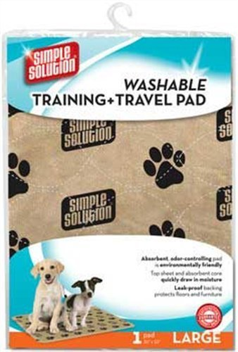 Simple Solutions Washable Training and Travel Pad, Large