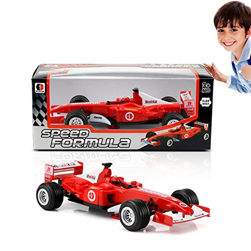Car model kit-toy cars(no batteries needed)-toy race car-F1 racing car (1:32 scale)