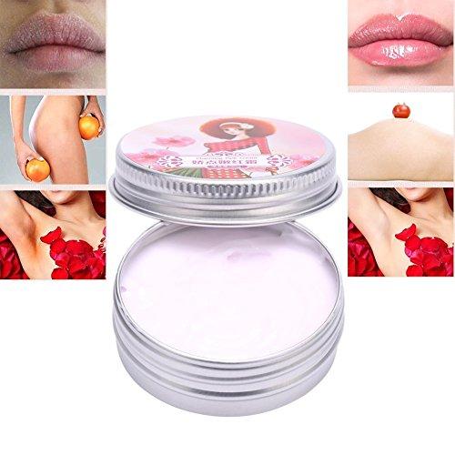 Skin Lightening Cream, Intimate bleaching Nipple Lips whitening Pinkish Cream Areola Desalination (White)