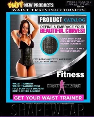 Mysexywaist.com Customer Product Catalog: MSW Products and Prices with Size Charts