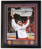 #8: Alexander Ovechkin Signed Framed 16x20 Washington Capitals 2018 Stanley Cup Trophy Photo Fanatics