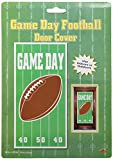 Beistle 50007 1-Pack Game Day Football Door Cover for Parties, 30 by 5-Feet