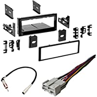 CHEVROLET 1995 - 2002 FULL SIZE TRUCK 1500/2500/3500 CAR STEREO RADIO CD PLAYER RECEIVER INSTALL MOUNTING KIT RADIO ANTENNA