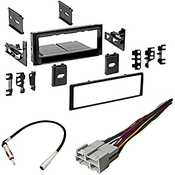 chevrolet 1995-2002 suburban car stereo radio cd player receiver install  mounting kit radio antenna
